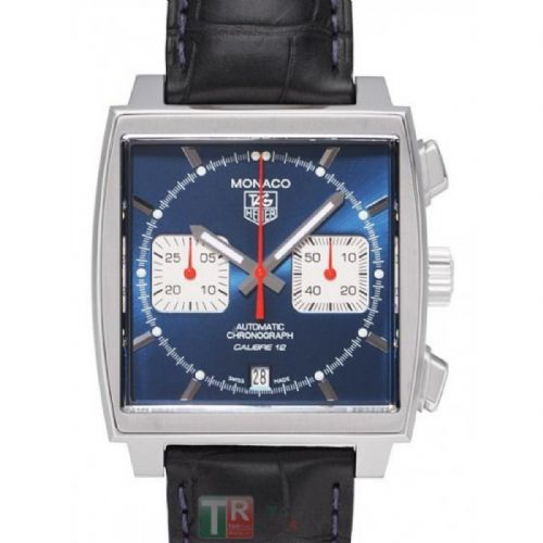 TAG HEUER Monaco Calibre 12 Automatic Chronograph Gents Watch CAW2111.FC6183